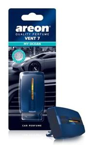 Areon Vent 7 Car Perfume Vent Clip AC and Fan Air Freshener, My Ocean Scent