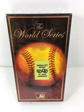 1985 The World Series Kansas City Royals Vs St. Louis Cardinals Vhs