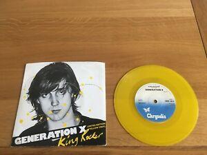 "Generation X-King rocker.7"" yellow vinyl."