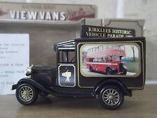 Lledo Stevelyn Model A Ford Van, Kirklees Historic Vehicle Parade 1989, D/D Bus