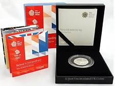Royal Mint 2016 Team GB Silver Proof 50p Coin Rio Olympics Fifty Pence COA
