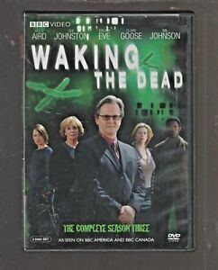 BBC 'WAKING THE DEAD' COMP SEASON 3 WIL JOHNSON SUE JOHNSTON DVD