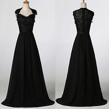 Grace Karin Vintage Lace Formal Ballgown Bridesmaid Evening Prom Dress Size 4
