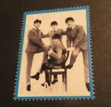 THE BEATLES STAMP KOMI 2004 FAB 4 B&W FREE SHIPPING CANADA & U.S.A LOT#1C