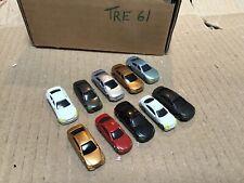 10 Pcs Painted Model Cars  model railway  Scenery detail  Layout Scale N 1:150