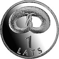 Latvia / Lettland - 1 lat Pretzel