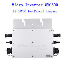 NEW WVC-600 Wireless Micro Inverter Converter Grid Tie Inverter for Solar Panel