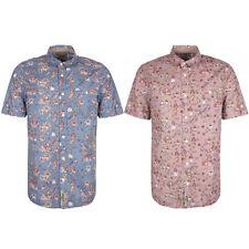 Short Sleeve Regular No Floral Casual Shirts & Tops for Men