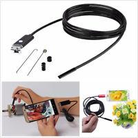 10M 7.0mm 67° Wide Angle Car USB 6-LED HD Endoscope Borescope Inspection Camera