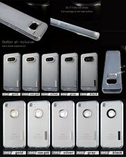 lot 5 carbon fiber clear tpu Shockproof Protector Case for iphone samsung LG G6