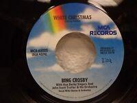 "BING CROSBY White Christmas/God Rest Ye Merry Gentlemen 7""/45 rpm MCA-65022 EX"