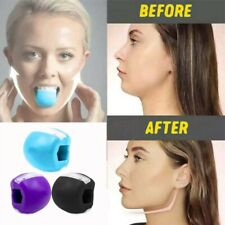 Face Masseter Jaw Muscle Exerciser jawline Jawrsize pop go mouth bite facial