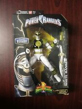 """Mighty Morphin Power Rangers Legacy Collection 6"""" White Ranger Action Figure"""
