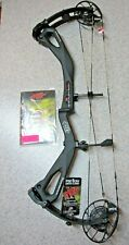New PSE Archery Carbon Air Stealth Mach 1 Compound Bow, RH, 51 to 70lbs, Black