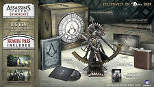 "Assassin's creed Syndicate Big Ben Collector Edition XBOX ONE COMPLETE ""NEW"""