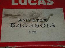 LUCAS AMMETER FITS A LOTUS