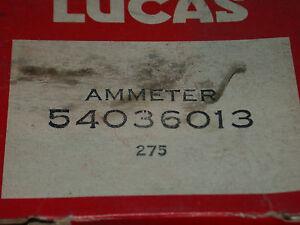 LUCAS AMMETER FITS  LOTUS, SPITFIRE, TRIUMPH