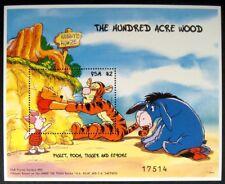1998 MNH DISNEY MICRONESIA WINNIE THE POOH STAMPS SOUVENIR SHEET TIGGER PIGLET
