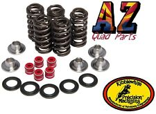Yamaha YFZ450R YFZ450X YFZ 450 Kibblewhite Race Titanium Valve Springs Kit Seals