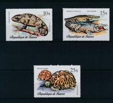 [307341] Guinea 1977 Reptiles good set of Airmail stamps very fine MNH