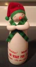 "HALLMARK KEEPSAKE ""MERRY WISHES SNOWMAN"" CHRISTMAS TREE ORNAMENT *NEW IN BOX!"