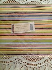 Longaberger Summertime Stripe Fabric Napkins - Set of 2