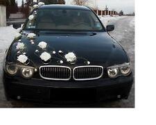 Marriage décoration voiture,ruban,noeuds,PROMO Limousine Décoration,Venue XXL
