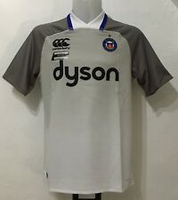 BATH RUGBY  S/S ALT PRO JERSEY HIGH RISE GREY BY CANTERBURY SIZE MEN'S LARGE NEW