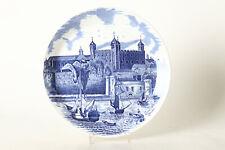 """Collection & Assiette Décorative """" Tower de Londres """" Anglais Porcelaine,Ø 25,5"""