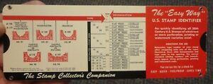 Charmatz US Stamp Identified for Washington-Franklin Series - 1964 edition