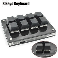 8 Keys Mechanical Keyboard USB Shortcut Programmable Fit For Windows Linux MacOS
