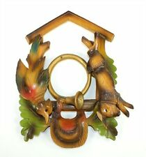 """CUCKOO CLOCK CASE FRAME - 10-1/2"""" TALL - VINTAGE PAINTED PARTS! GG316"""