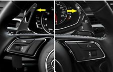 Black Steering Wheel Shift Paddle Extension For Audi A3 A4 A5 Q7 TT 2017 2018 19