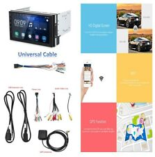 HD Capacitive 5-point Touch Voiture GPS Navigation DVR vidéo Radio FM Android 6.0.1