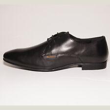 Ben Sherman Boys Adair Black Leather Lace-up Shoes UK 8 EU 42 US 11