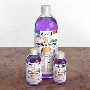 WRATH Spirit Gum Remover - Professional SFX Make-up Adhesive Solvent for Skin