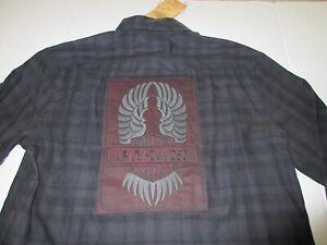 Women's Harley Davidson Flannel Shirt Patch Size XL **NEW**