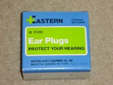 Eastern Safety Co. Box of 10 Ear Plugs w/ Neck Cord in Individual Cases