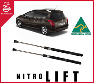 REAR TAILGATE GAS STRUTS suit PEUGEOT 308 STATION WAGON / Brand New Pair