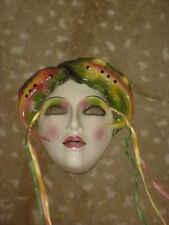 CLAY ART CERAMIC MASK...CAMELEON...EXTREMELY RARE!