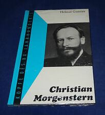 Helmut Gumtau - Christian Morgenstern Köpfe des XX Jahrhunderts