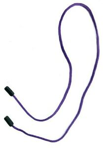 Gorilla Grip Secure Spectacle/Glasses Cord Holder / Lanyard  - CLASSIC PURPLE