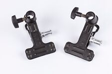 2 X Manfrotto 275 Mini Spring Clamps with 5/8 inch Attachment. Excellent Cond.
