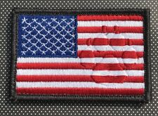 Steel Flame Old Glory Paw Morale Patch