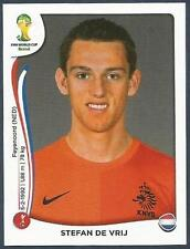PANINI WORLD CUP 2014- #131-NEDERLAND-HOLLAND-STEFAN DE VRIJ