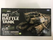 MARUI RC BATTLE TANK M1A2 ABRAMS Desert camouflage specification  sand color