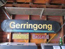 GERRINGONG RAILWAY STATION SIGN