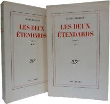 """Edition originale REBATET Lucien """"Les deux étendards"""" s/pur fil de tête, 2vol"""