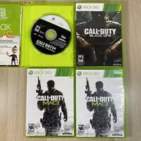 Call of Duty 4 Modern Warfare, Black Ops, MW3 Xbox 360 Lot of 4 Games Free Ship!
