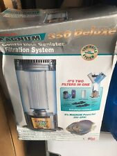 MAGNUM 350 Deluxe Self Starting Convertible Canister Filtration System Nib